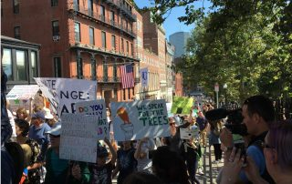 Photos from the September 2019 Climate March: