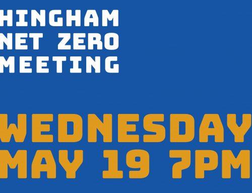 Hingham Net Zero General Meeting: Wednesday May 19 at 7pm