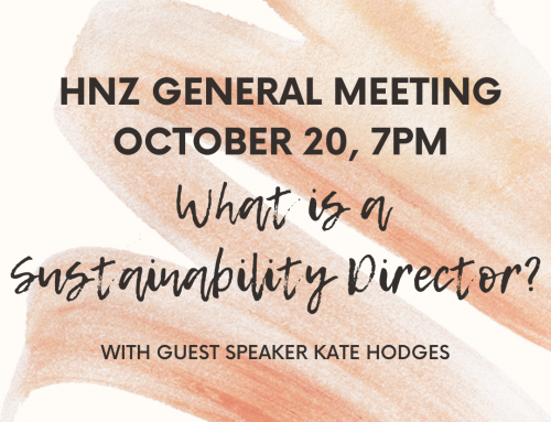 Hingham Net Zero General Meeting, Wednesday October 20, 7pm